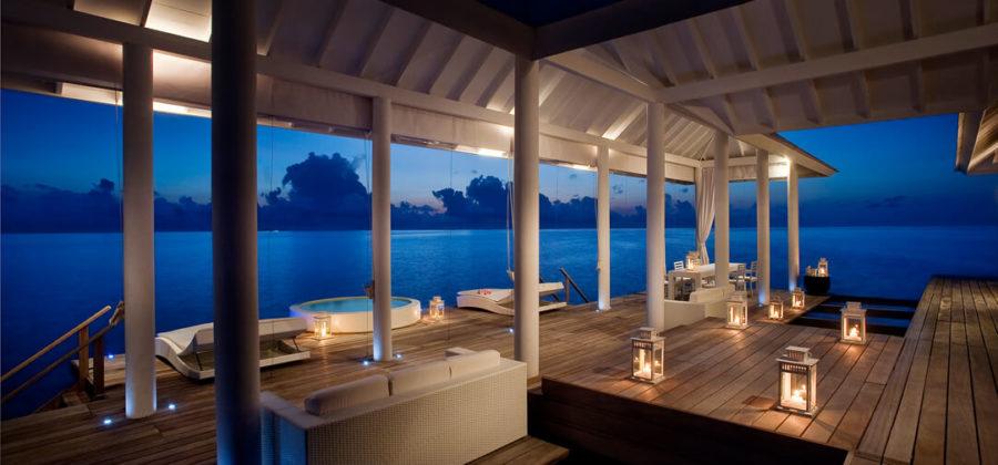 Diamonds Athuruga Two Bedroom Water Villa Terasse