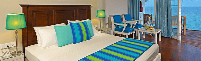 Adaaran Club Rannalhi Beach Villa Bett