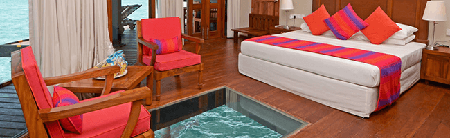 Adaaran Club Rannalhi Water Villa Bett