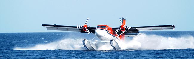 Adaaran Select Meedhupparu Wasserflugzeug