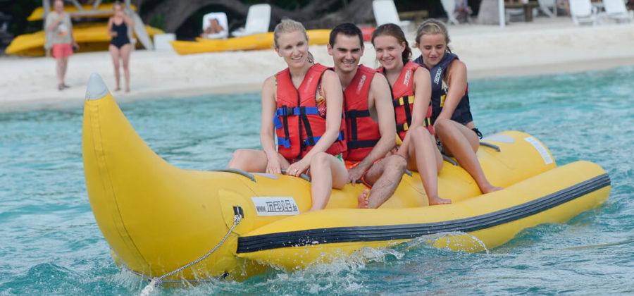Bandos Island Resort Banana Boat