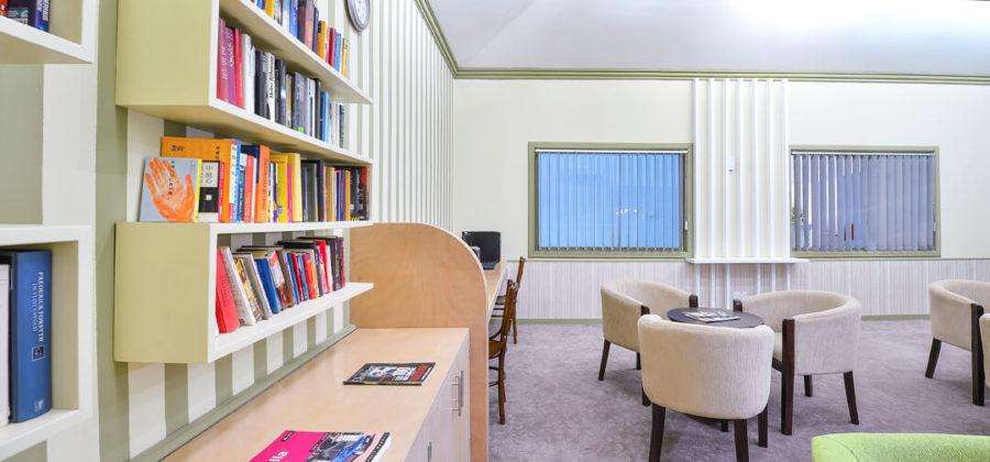 Bandos Island Resort Bibliothek