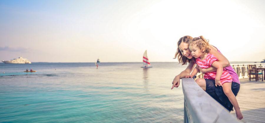 Bandos Island Resort Familie