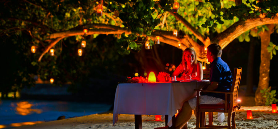 Bandos Island Resort Intimate Dinner