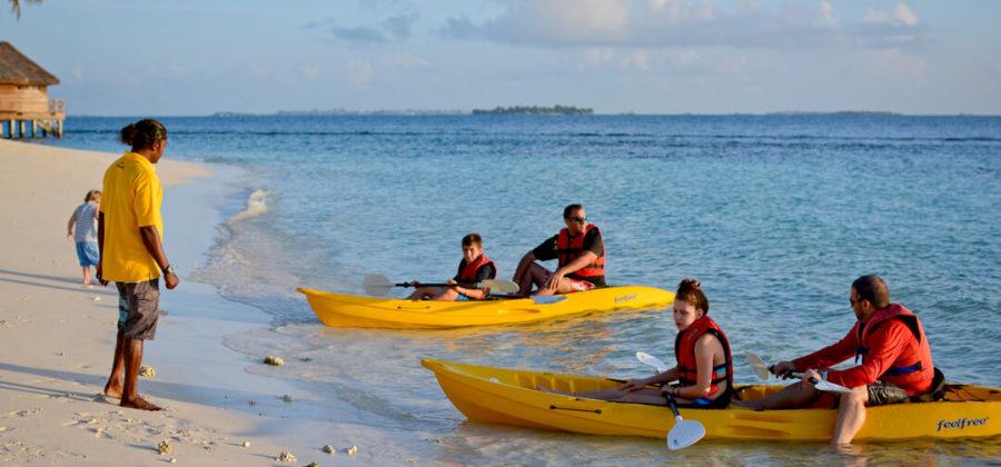 Bandos Island Resort Kajak