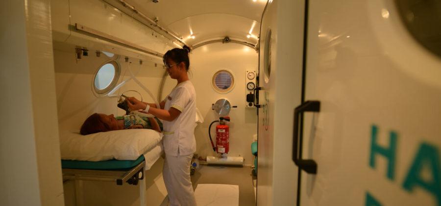 Bandos Island Resort Medizin Druckkammer