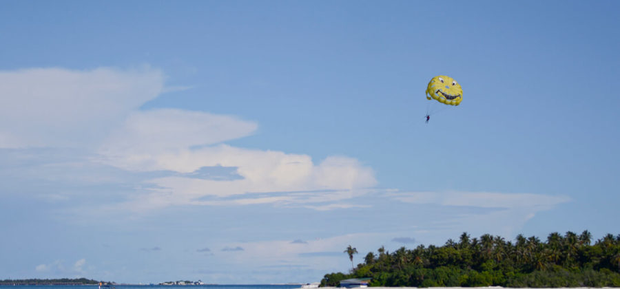 Bandos Island Resort Parasailing