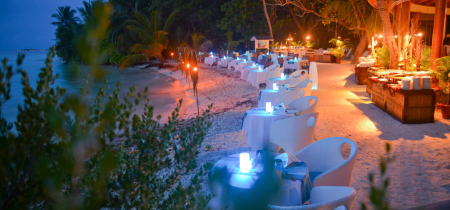 Bandos Island Resort Private Dinning