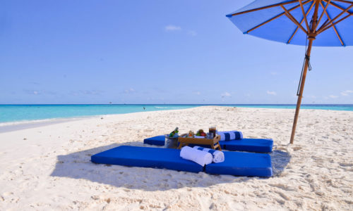 Bandos Island Resort Sandbank Picknick