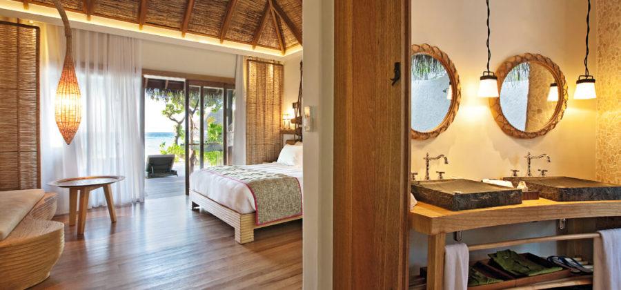 Constance Moofushi Beach Villa Interior