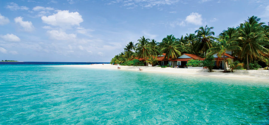 Diamonds Thudufushi Beach Junior Suite Strand Meer