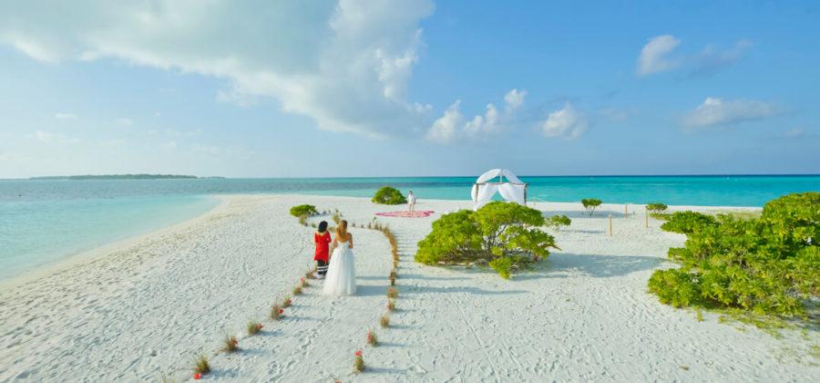 Holiday Island Hochzeit