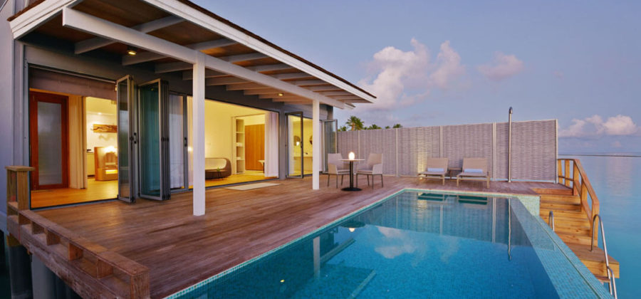 Kuramathi Water Villa with Pool