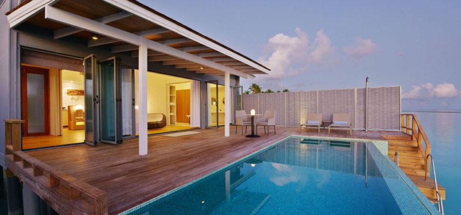 Kuramathi Water Villa with Pool