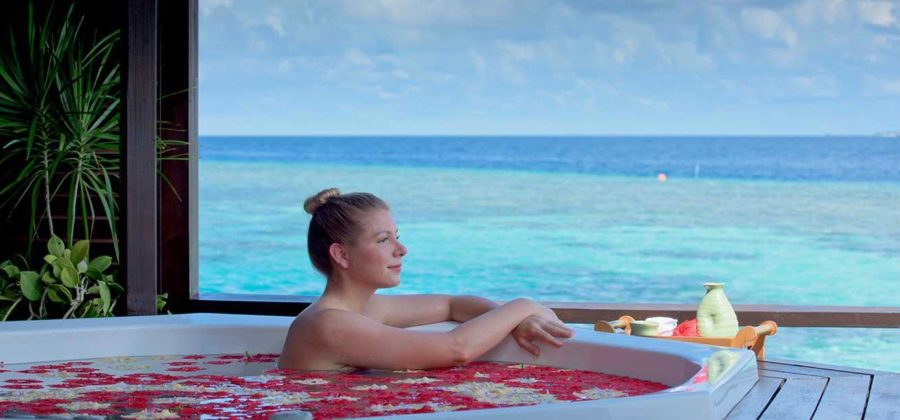 Lily Beach Honeymoon Spa