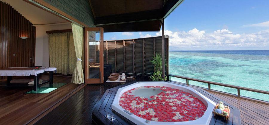Lily Beach Honeymoon Spa
