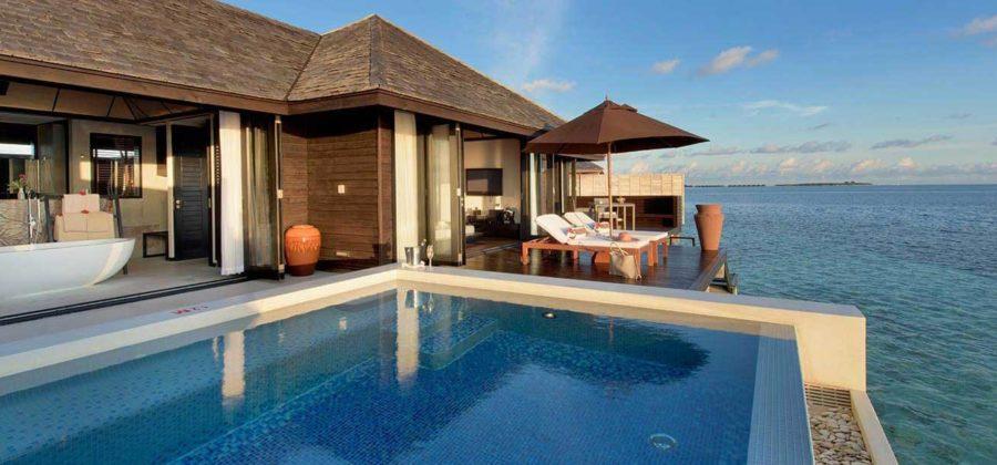 Lily Beach Sunset Water Villa