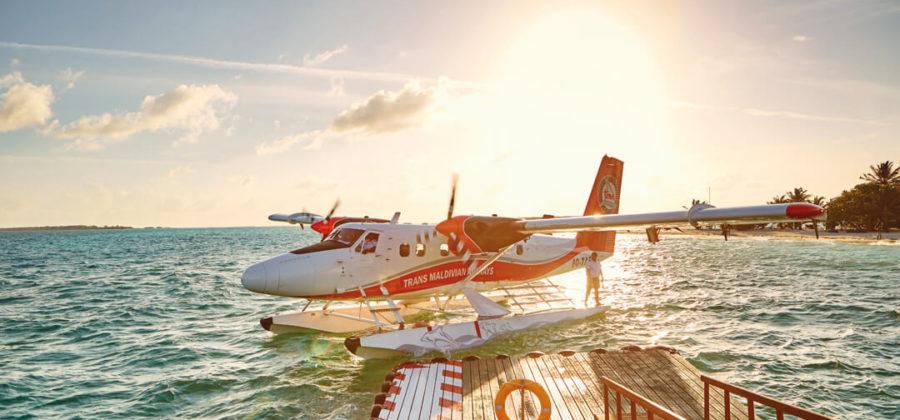 Lux South Ari Atoll Ankunft