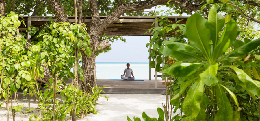 Lux South Ari Atoll Spa Yoga