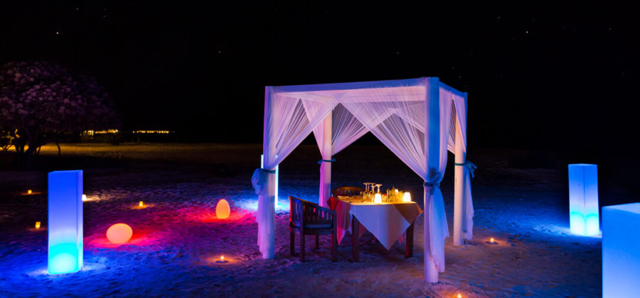 Lux South Ari Atoll Special Dinner