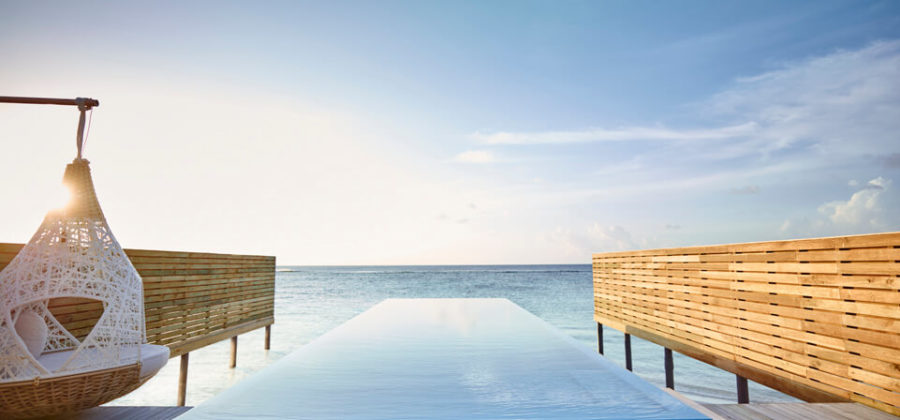 Lux South Ari Atoll Temptation Pool Villa Pool