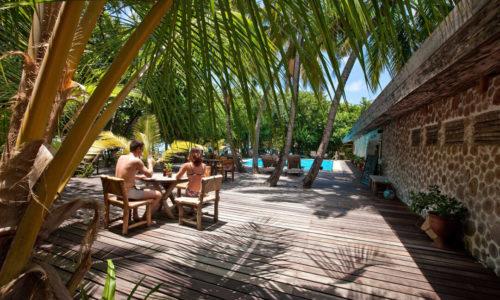 9 Tage im Reethi Beach Resort entspannen (4*), All Inclusive, inkl. Flug & Transfer