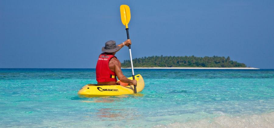 Reethi Beach Resort Canoeing