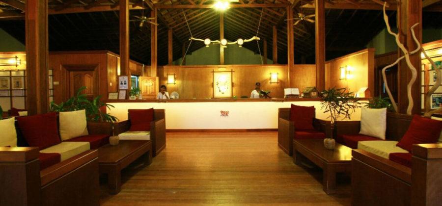 Reethi Beach Resort Rezeption