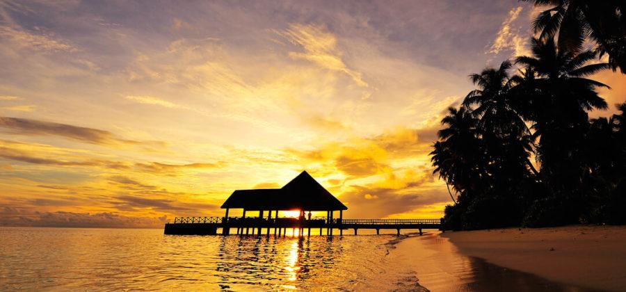Robinson Club Maldives Ankunftssteg