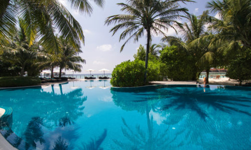 Robinson Club Maldives Pool