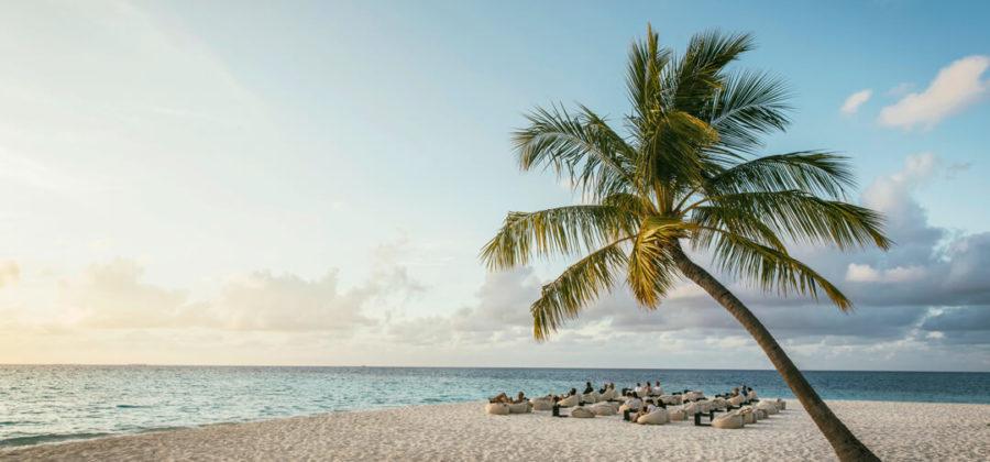 Robinson Club Maldives Sonnenuntergang