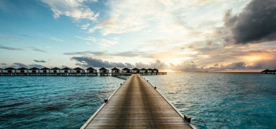 Robinson Club Maldives Steg
