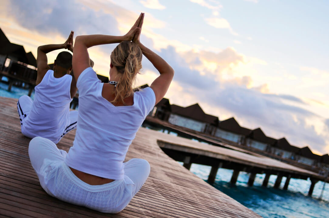 robinson club maldives yoga