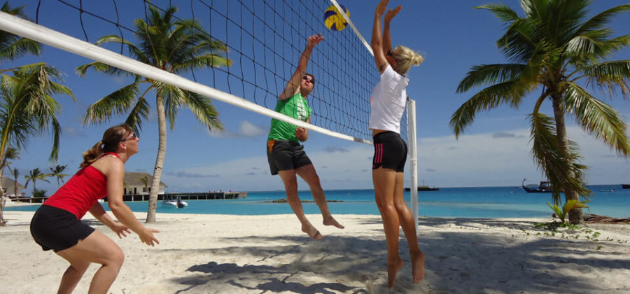 Safari Island Resort Volleyball