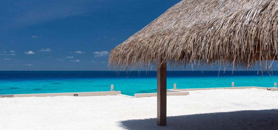Summer Island Maldives Ankunftssteg