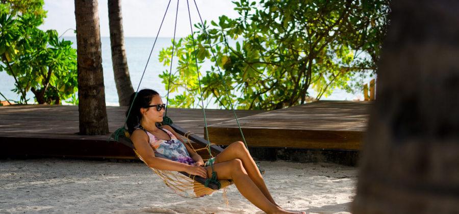 Summer Island Maldives Hängematte