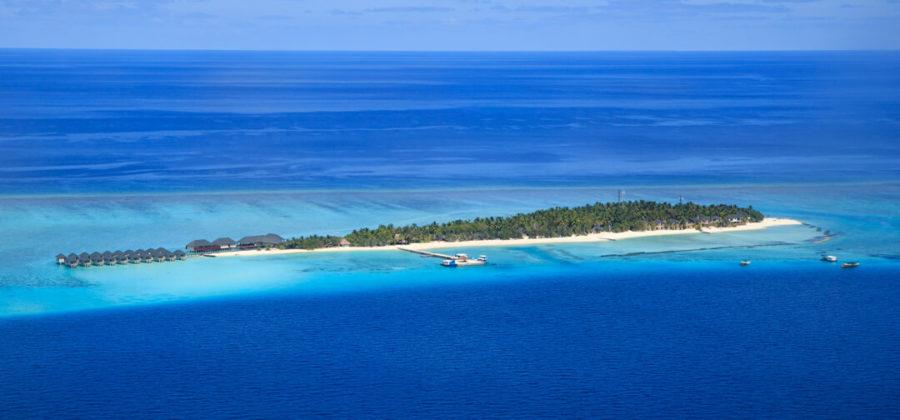 Summer Island Maldives Insel