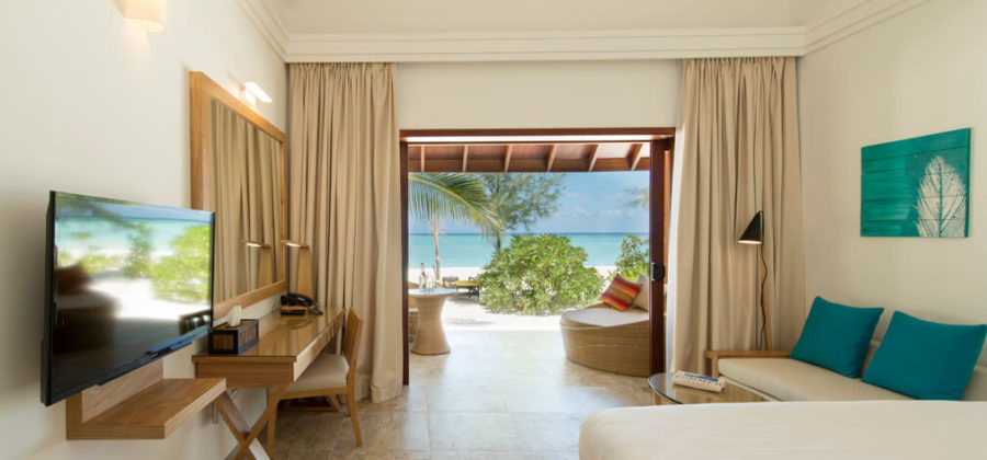 Summer Island Maldives Premium Beach Villa Interior