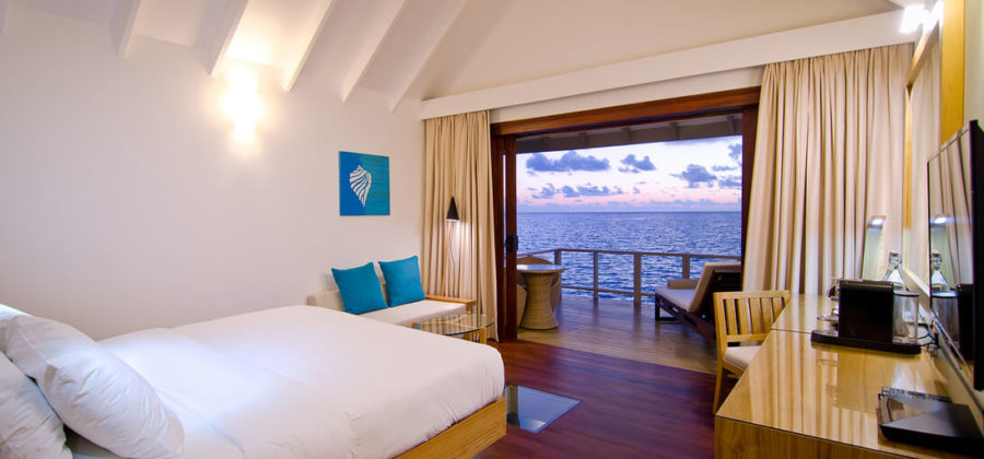 Summer Island Maldives Water Villa Interior