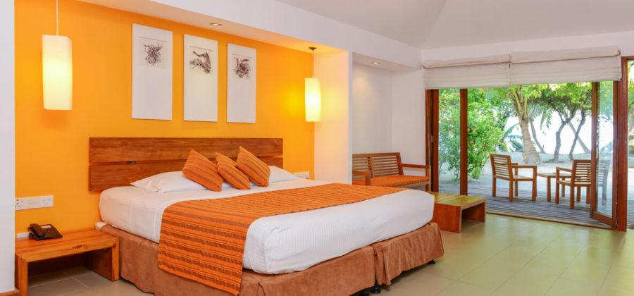 Adaaran Select Hudhuran Fushi Garden Villa Bett