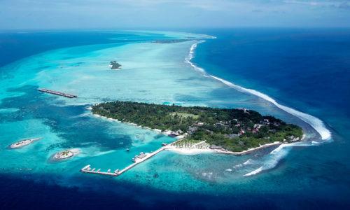 14 Tage im Surfer-Himmel Adaaran Select Hudhuranfushi (4*), mit AI, Zug, Flug & Transfer