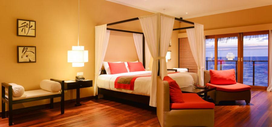 Adaaran Select Hudhuran Fushi Water Schlafzimmer
