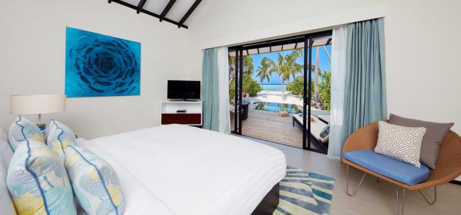 Amari Havodda Beach Pool Villa Schlafzimmer
