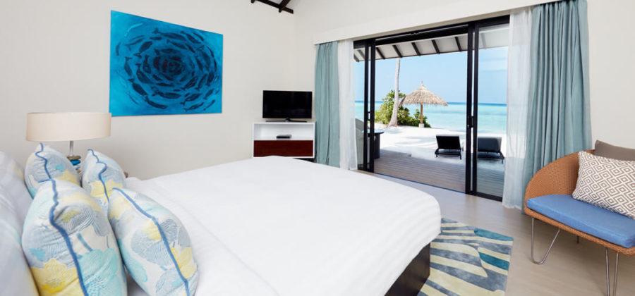 Amari Havodda Beach Villa Schlafzimmer