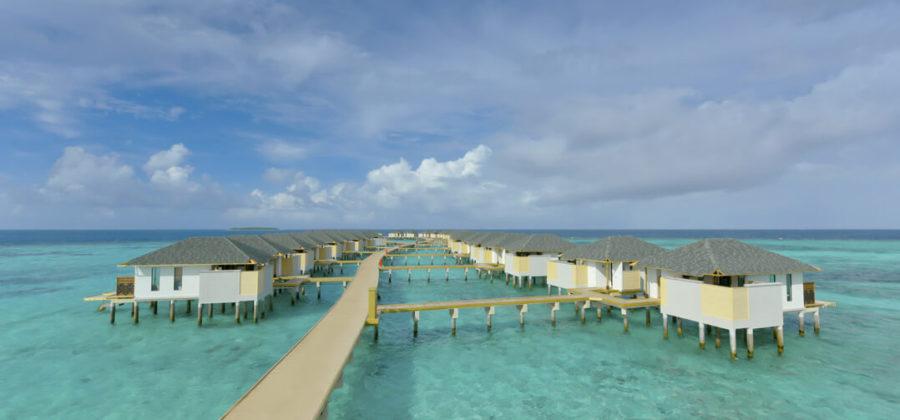 Amari Havodda Overwater Villa Steg