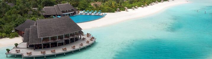 Anantara Dhigu Lagune mit Pool
