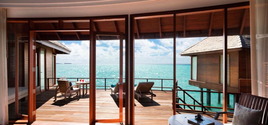 Anantara Dhigu Overwater Suite Ausblick