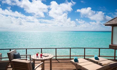 Anantara Dhigu Overwater Suite Terrasse