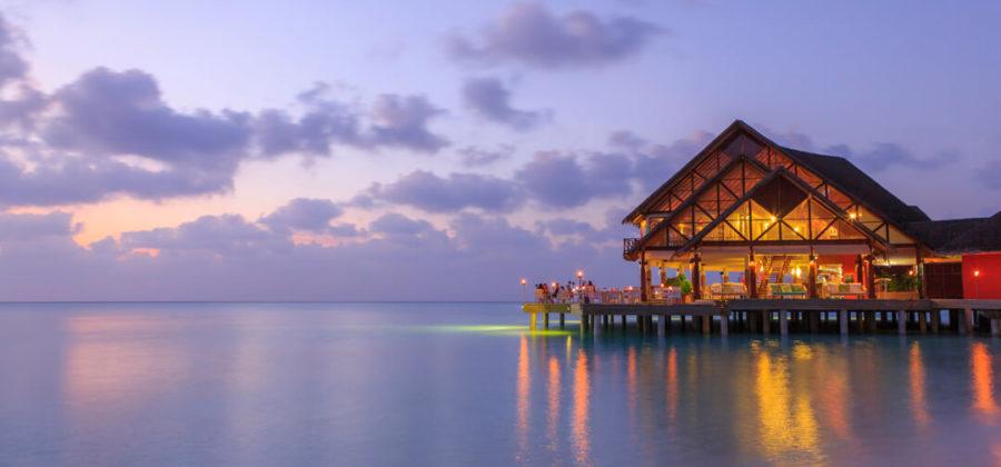 Anantara Dhigu Overwater Restaurant