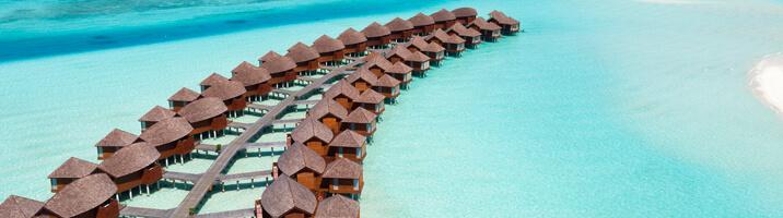 Anantara Dhigu Overwater Suites aus der Luft